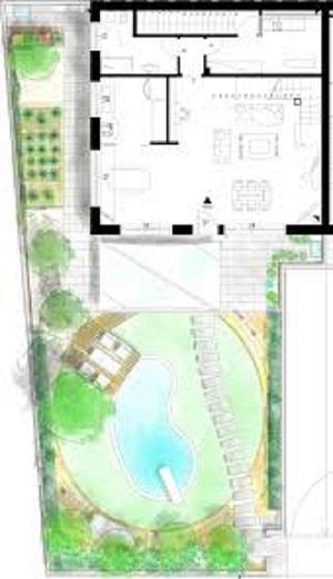 Progetto di un giardino privato Carmagnola