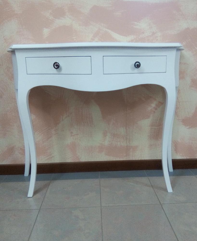 Tavolino consolle ingresso studio soggiorno in legno - Soggiorno in legno ...