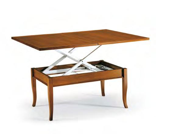 Tavolino da soggiorno salotto in legno trasformabile - Tavolino soggiorno ...