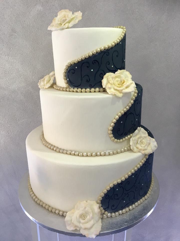 spesso Immagini torte nuziali semplici AQ57