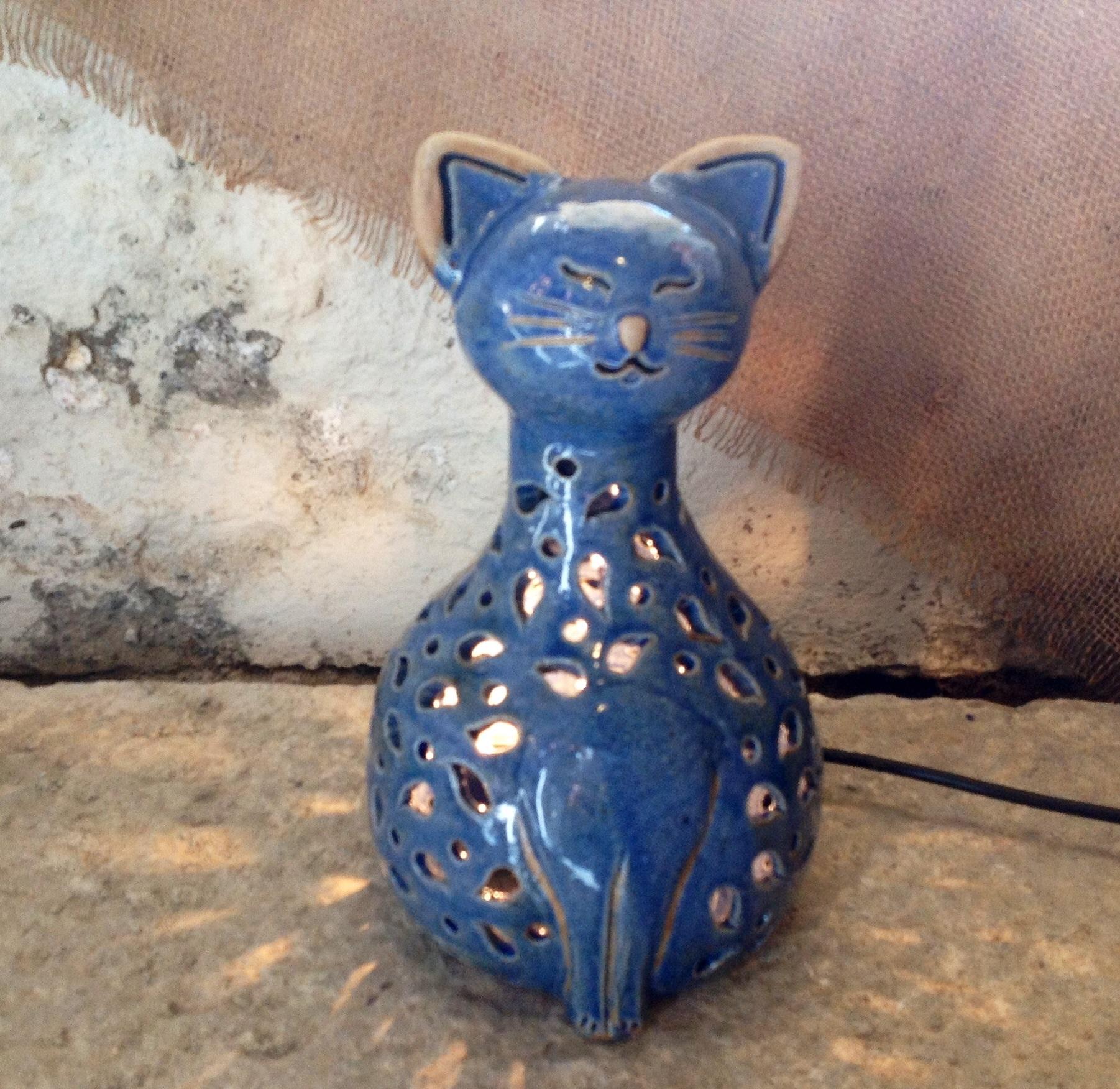 Lampade gatto in ceramica a Carmagnola