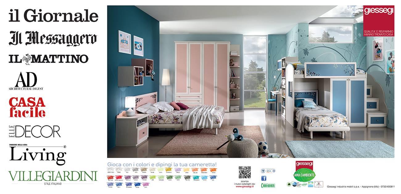 Giessegi camerette catalogo stunning camerette giessegi for Giessegi arredamenti prezzi