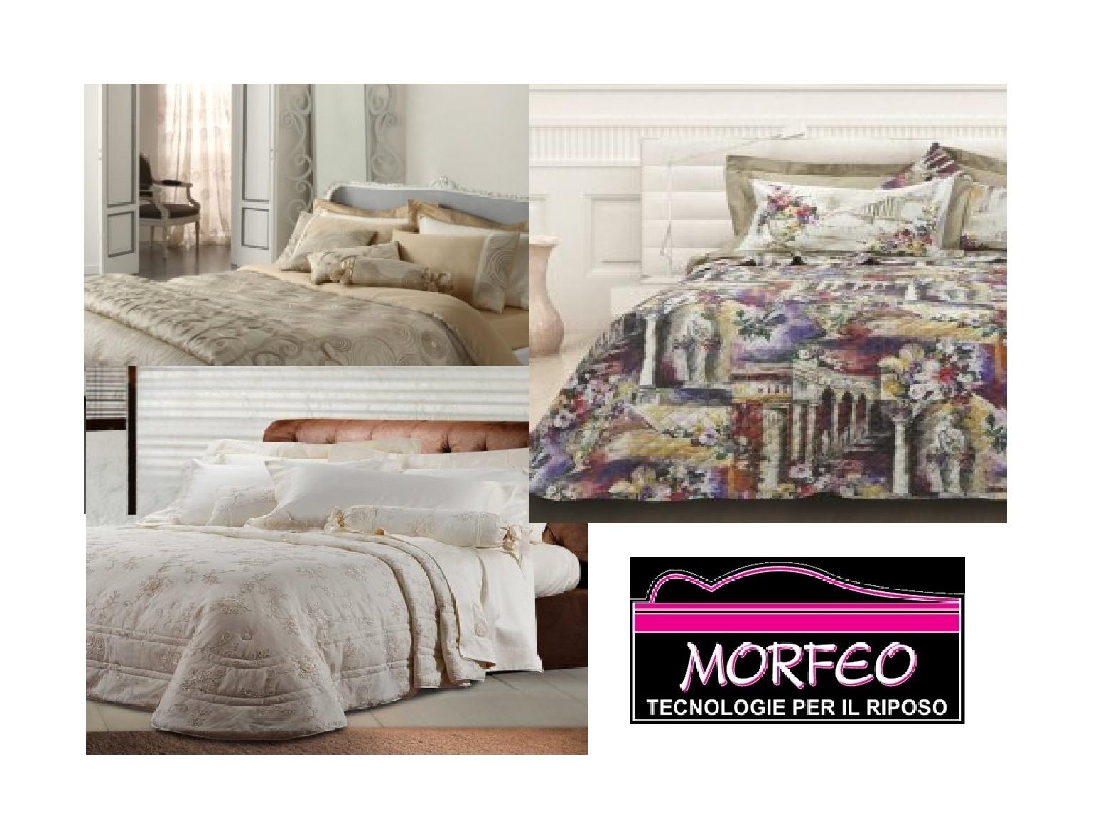 Morfeo biancheria per il letto catanzaro cz - Vestire il letto ...