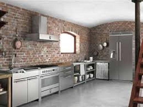 Cucine moderne in acciaio carignano e dintorni - Cucine non componibili ...